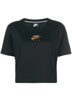 Nike logo cropped T-shirt