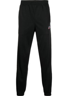 Nike logo patch track pants