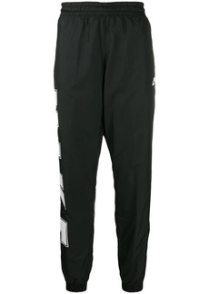 Nike logo print track pants
