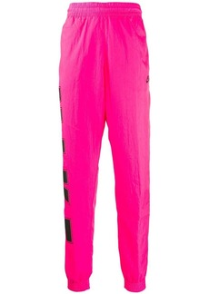 Nike logo print track trousers