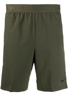 Nike logo track shorts