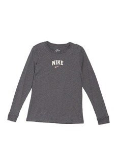 Nike Logo Varsity Long Sleeve T-Shirt