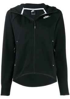 Nike logo zip up hoodie