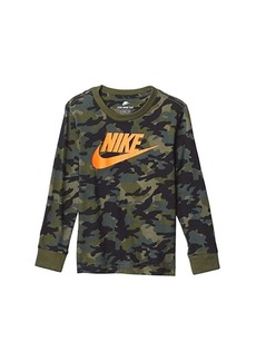 Nike Long Sleeve Camo Print T-Shirt (Toddler)