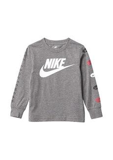 Nike Long Sleeve Graphic T-Shirt (Toddler/Little Kids)