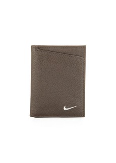 Nike Men's Pebbled Leather Trifold Wallet