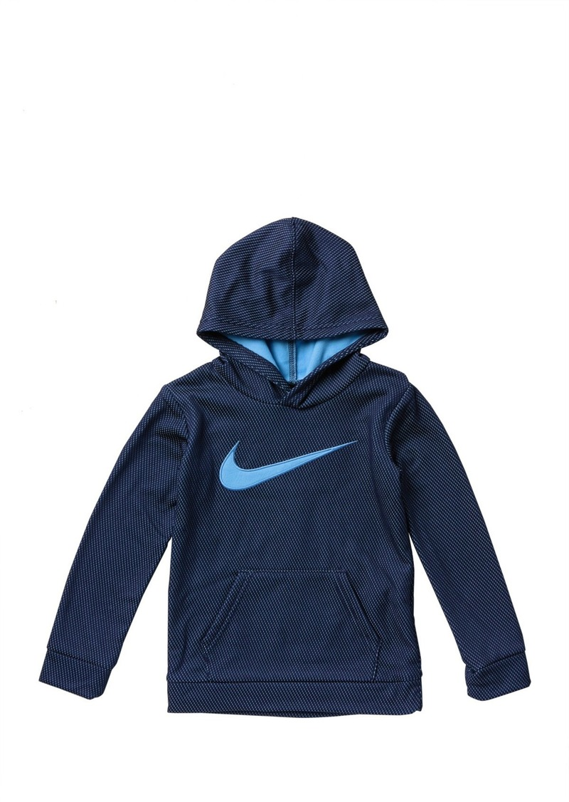 Nike Mesh Face Pullover Hoodie (Little Boys)