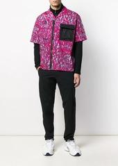Nike mesh panel shirt