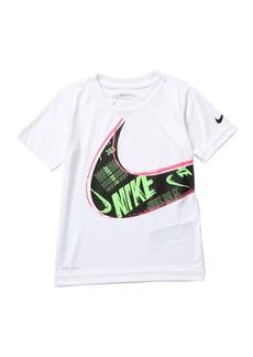 Nike Muddy Swoosh Dri-Fit Short Sleeve Tee (Little Boys)
