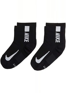 Nike Multiplier Running Ankle Socks 2-Pair Pack