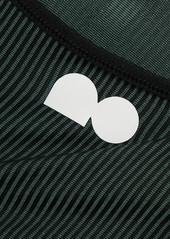 Nike Naomi Osaka Cutout Striped Dri-fit Sports Bra