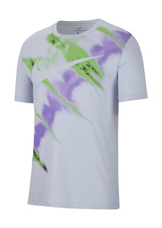 Nike Natural High Tie Dye Logo T-Shirt