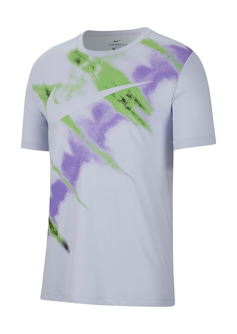 Nike Natural High Tie Dye Logo T-Shirt