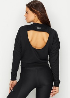 Nike + Dri-Fit Cropped Training Top