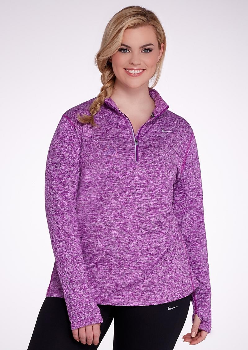 Nike + Element Dri-FIT Half-Zip Pullover Plus Size