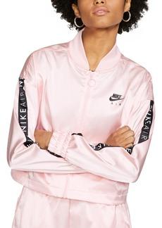 Nike Air Cropped Satin Track Jacket