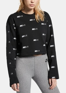 Nike Women's Air Logo-Print Sweatshirt