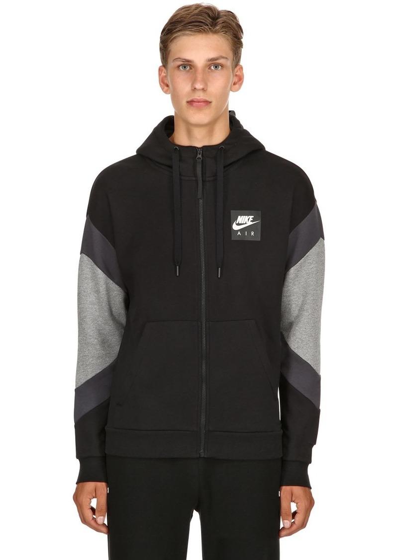 7a787b0df217 On Sale today! Nike Nike Air Logo Zip-up Sweatshirt Hoodie