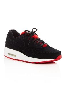 Nike Air Max 1 Premium Lace Up Sneakers