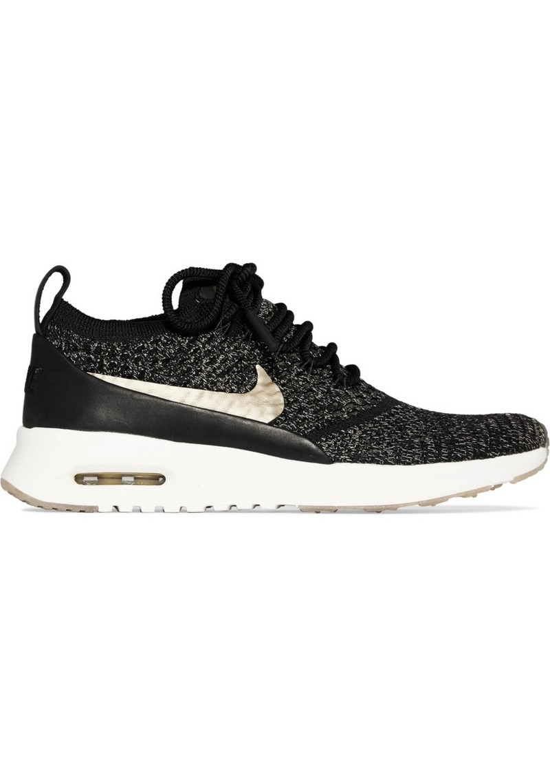 b239e2fcb2 Nike Nike Air Max Thea Ultra leather-trimmed Flyknit sneakers Now $72.00
