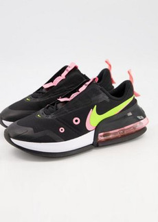 Nike Air Max Up sneakers in black, cyber and sunset pulse