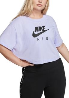 Nike Air Plus Size Short-Sleeve Crop Top