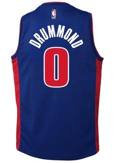 Nike Andre Drummond Detroit Pistons Icon Swingman Jersey, Big Boys (8-20)