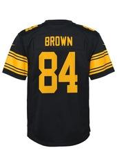 Nike Antonio Brown Pittsburgh Steelers Color Rush Jersey, Little Boys (4-7)