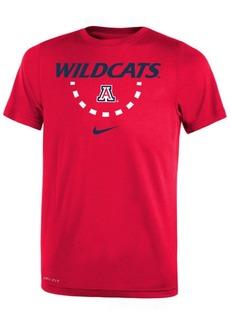 Nike Arizona Wildcats Basketball Legend Logo T-Shirt 2018, Big Boys (8-20)
