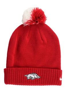 Nike Arkansas Razorbacks Beanie Sideline Pom Hat