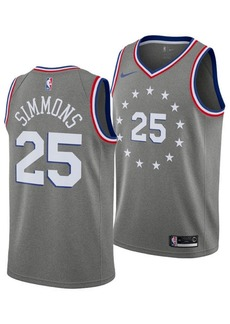 Nike Ben Simmons Philadelphia 76ers City Edition Swingman Jersey 2018, Big Boys (8-20)