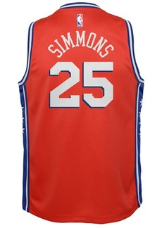 Nike Ben Simmons Philadelphia 76ers Statement Swingman Jersey, Big Boys (8-20)