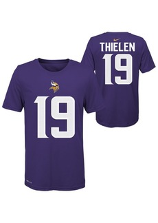 Nike Big Boys Adam Thielen Minnesota Vikings Pride Name and Number T-Shirt