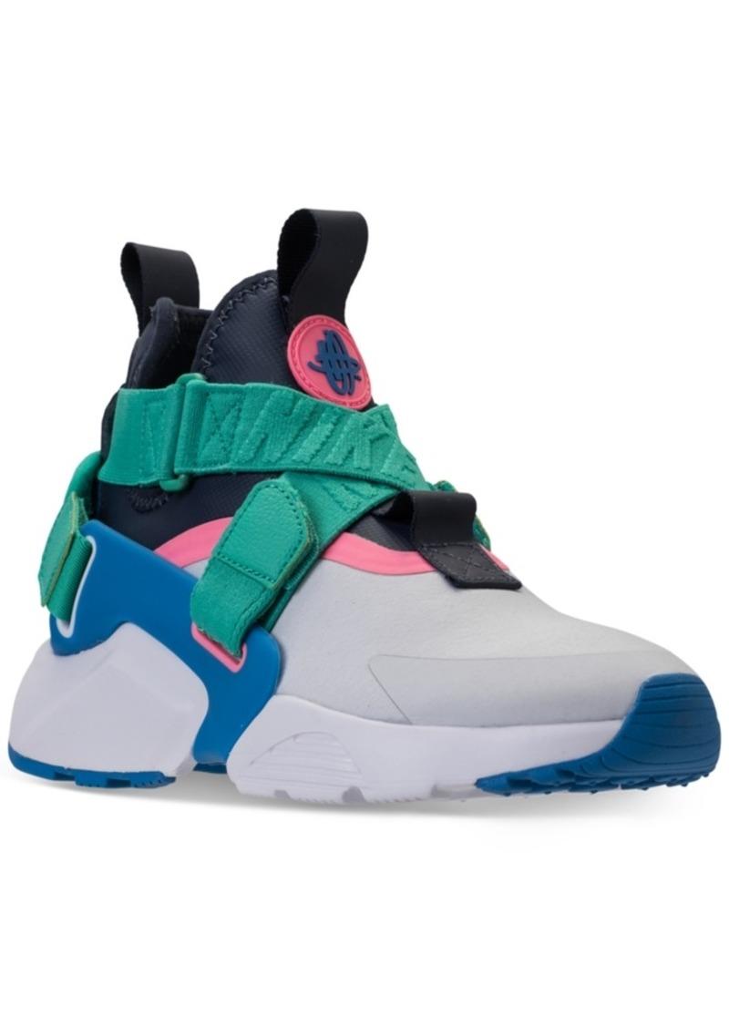 5d0b63ccec43 Nike Nike Big Boys  Air Huarache City Casual Sneakers from Finish ...