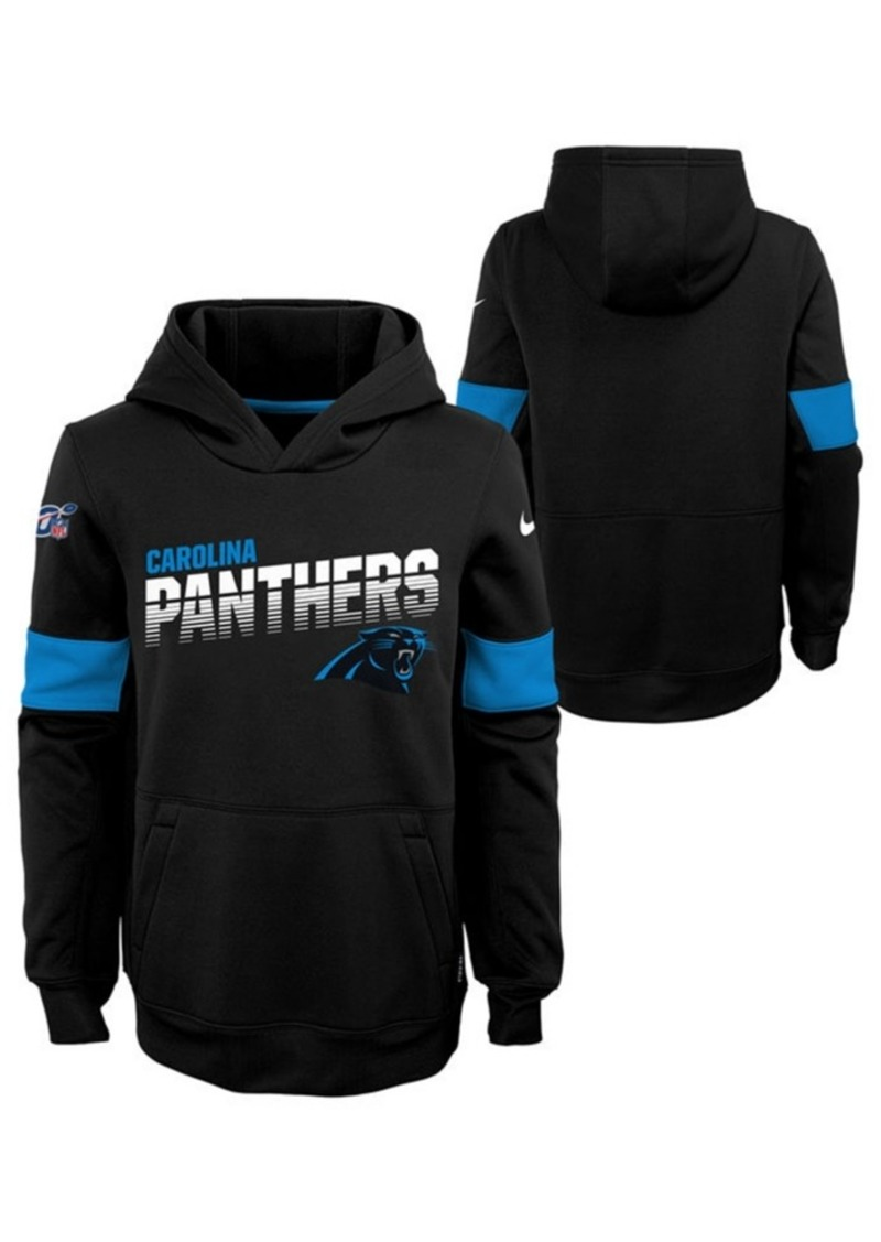 Nike Big Boys Carolina Panthers Therma Hoodie