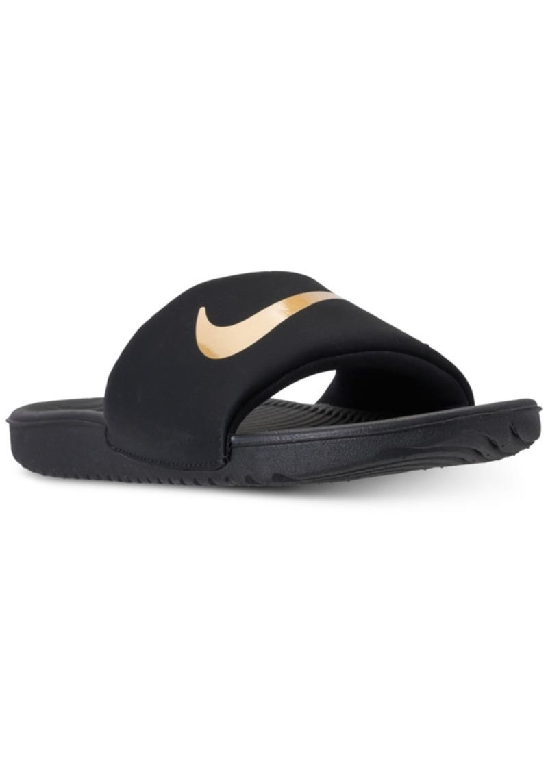 2b8c05f4f8e5 Nike Nike Big Boys  Kawa Slide Sandals from Finish Line