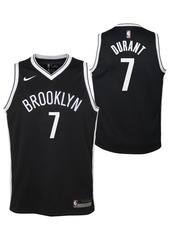 Nike Big Boys Kevin Durant Brooklyn Nets Icon Swingman Jersey