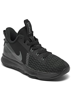 Nike Big Kids LeBron Witness 5 Basketball Sneakers from Finish Line