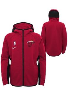 Nike Big Boys Miami Heat Showtime Hooded Jacket