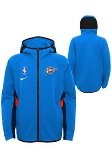 Nike Big Boys Oklahoma City Thunder Showtime Hooded Jacket