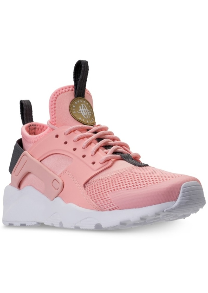 big sale 23b3e 16507 Big Girls  Air Huarache Run Ultra Running Sneakers from Finish Line. Nike