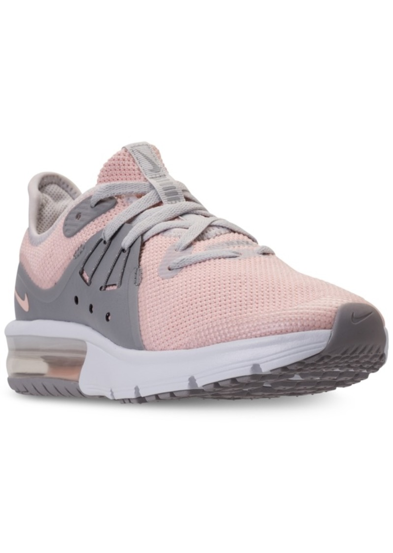 e2ef72facb2631 Nike Nike Big Girls  Air Max Sequent 3 Running Sneakers from Finish ...