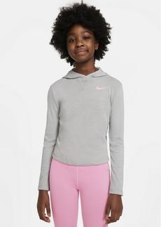Nike Big Girls Dri-Fit Trophy Hooded Long-Sleeve Top