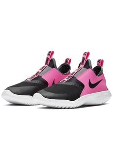 Nike Big Girls Flex Runner Slip-On Athletic Sneakers from Finish Line