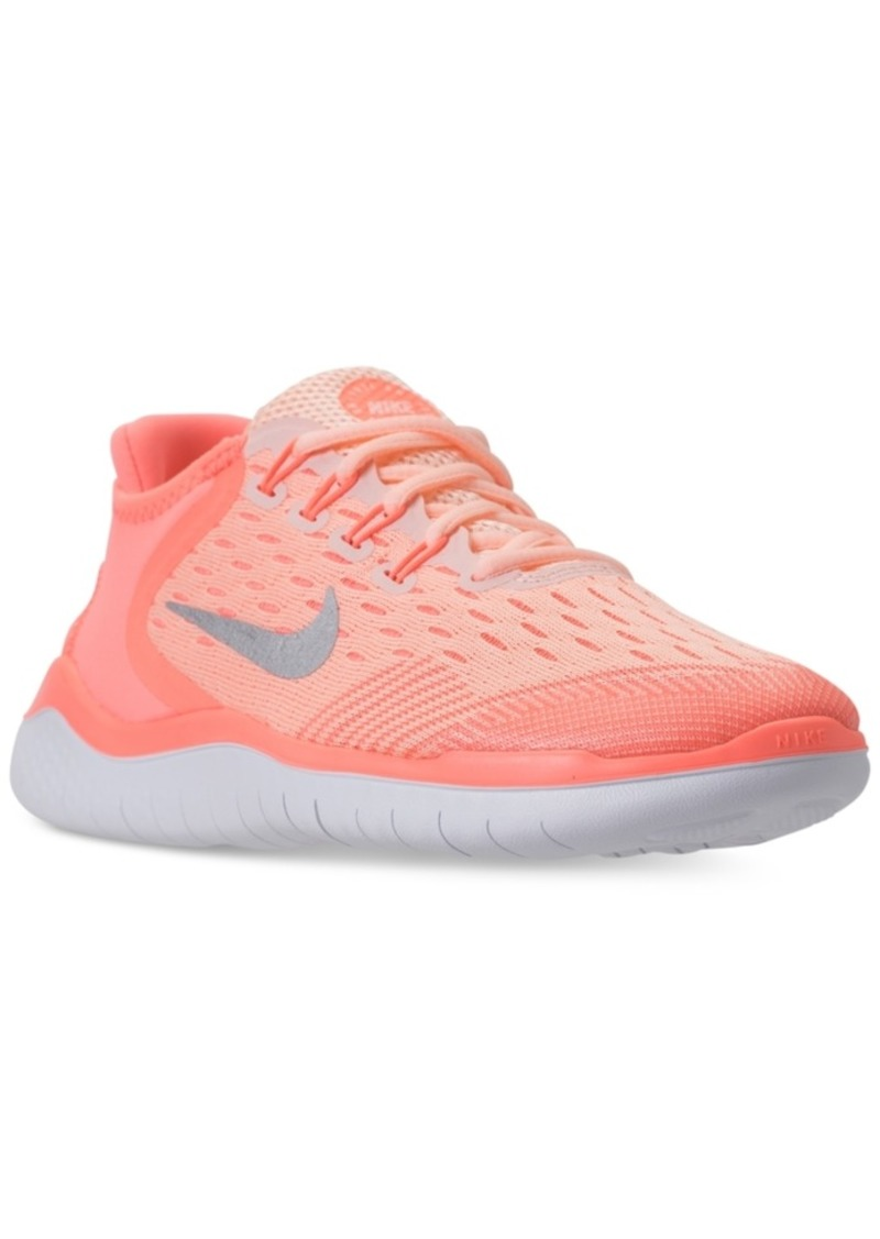 the latest 62a24 d2998 Big Girls  Free Rn 2018 Running Sneakers from Finish Line. Nike