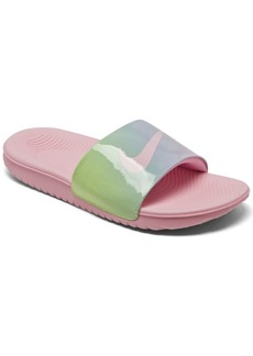 Nike Big Girls Kawa Slide SE2 Slide Sandals from Finish Line
