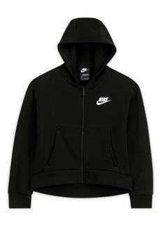 Nike Big Girls Sportswear Club Fleece Full-Zip Hoodie