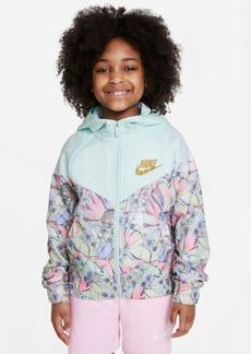 Nike Big Girls Windrunner Printed Jacket