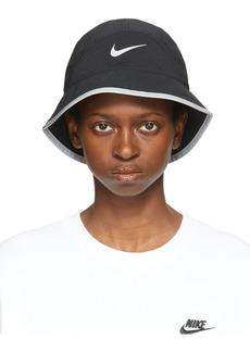 Nike Black Dri-FIT Perforated Running Bucket Hat