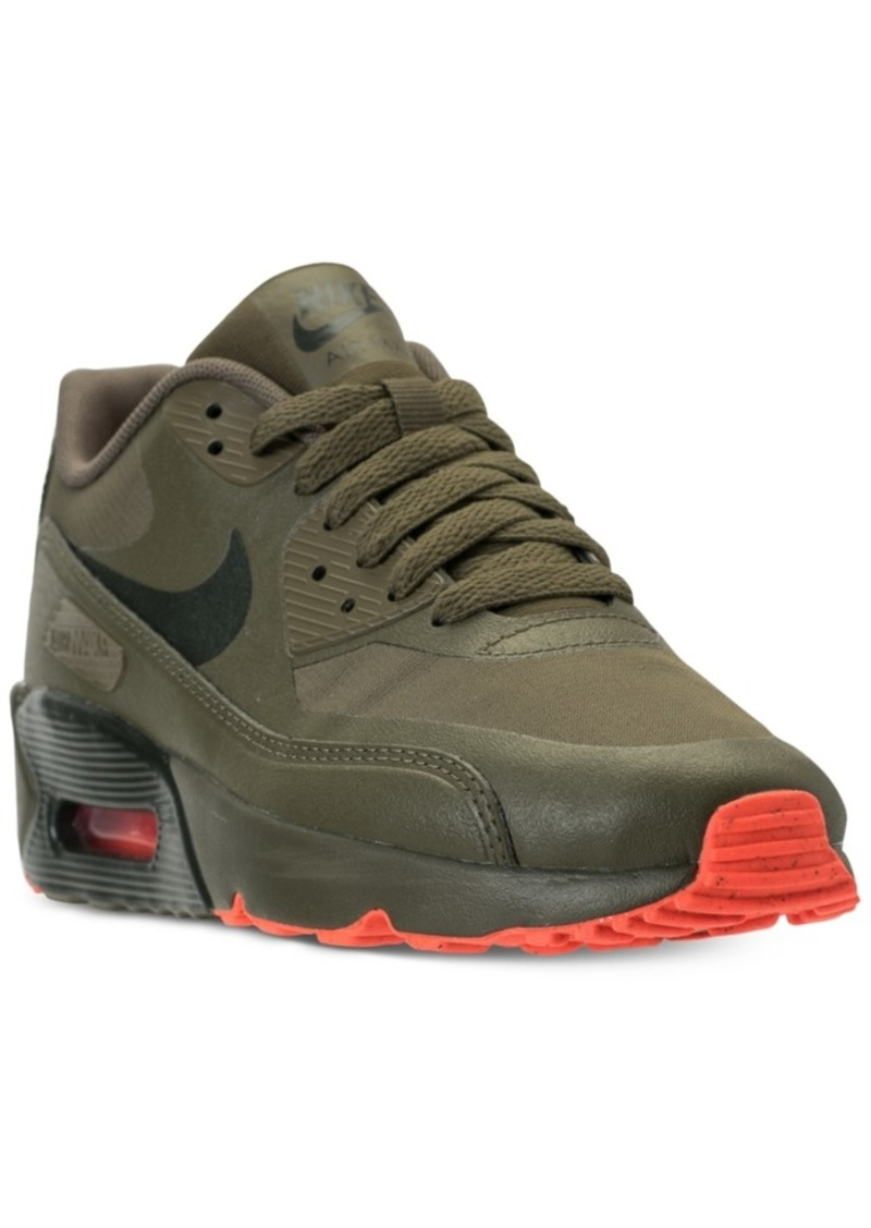 4d0cf9cb9c25 Big Boys  Air Max 90 Ultra 2.0 Le Casual Sneakers from Finish Line. Nike